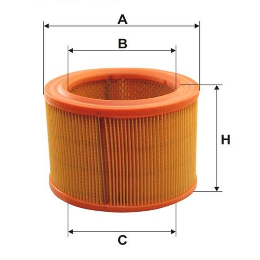 Correggi un sapiente Filtro-dell-aria-norauto-referenza-wa6483-numero-semplificato-600--265038