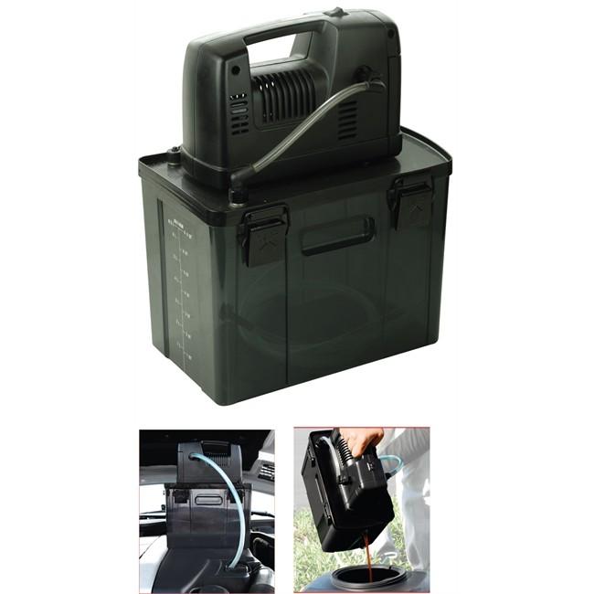 aspiratore dell 39 olio elettrico con serbatoio da 6 5l. Black Bedroom Furniture Sets. Home Design Ideas