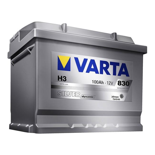 100 Ah Batteria per auto Varta Silver Top H3